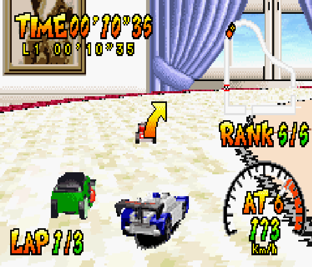 Hot Wheels Burnin Rubber THQ Altron Nintendo Game Boy Advance GBA Xtreme Retro 5