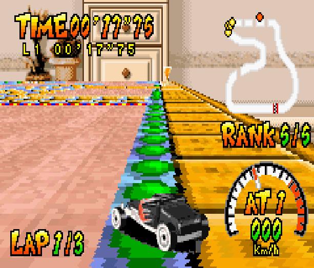 Hot Wheels Burnin Rubber THQ Altron Nintendo Game Boy Advance GBA Xtreme Retro 8