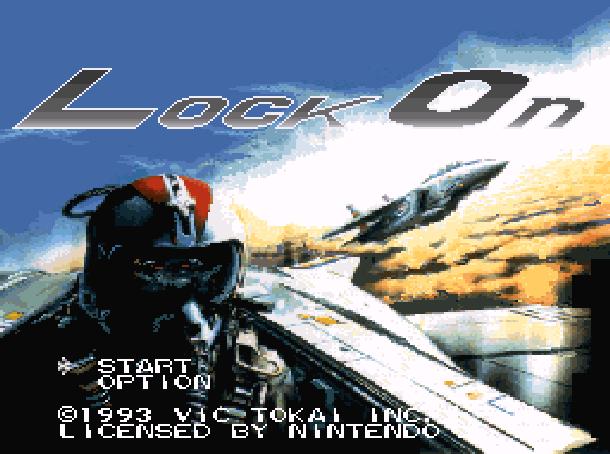 Lock On Super Nintendo SNES Xtreme Retro 1