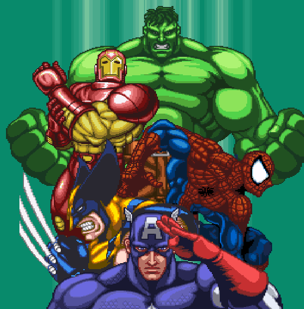 Marvel Super Heroes War of the Gems Capcom Beat em up Super Nintendo SNES Xtreme Retro 1