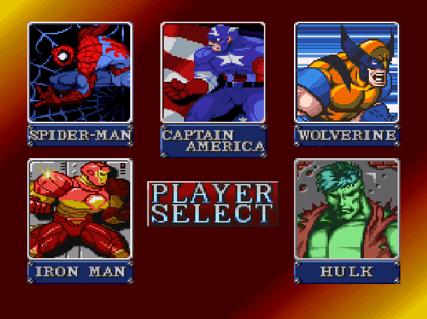 Marvel Super Heroes War of the Gems Capcom Beat em up Super Nintendo SNES Xtreme Retro 7