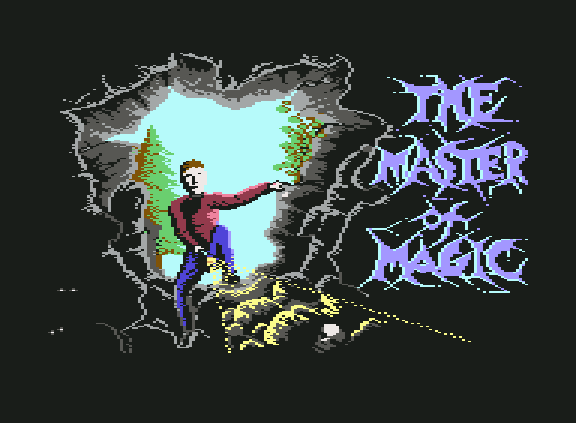Master of Magic Mastertronic RPG Commodore 64 C64 ZX Spectrum Xtreme Retro 1