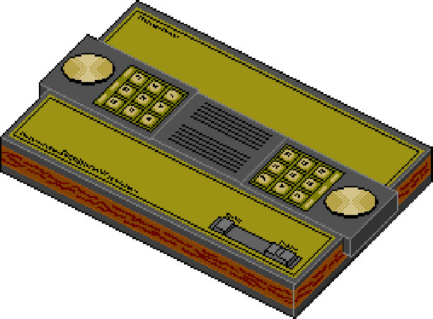 Mattel Intellvision Pixel Art Xtreme Retro