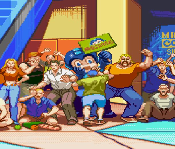Megaman X Command Mission Capcom Rockman Sony PlayStation 2 PS2 GameCube GC RPG Xtreme Retro Pixel Art