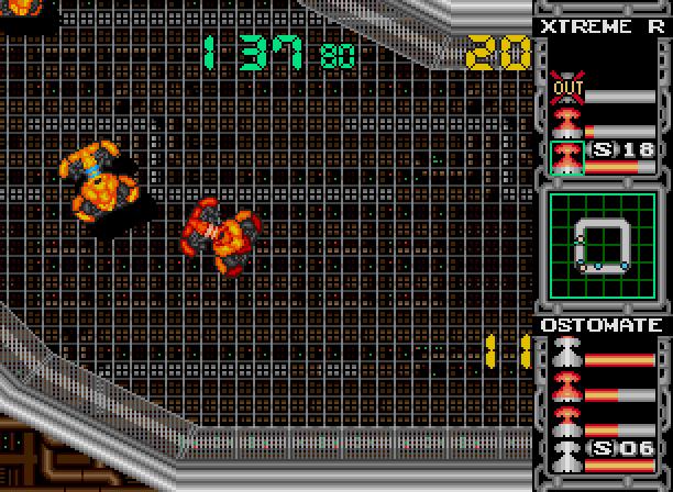 Metal Fangs SEGA Victor Entertainment Japanese Mega Drive Genesis Racing Game Xtreme Retro 6