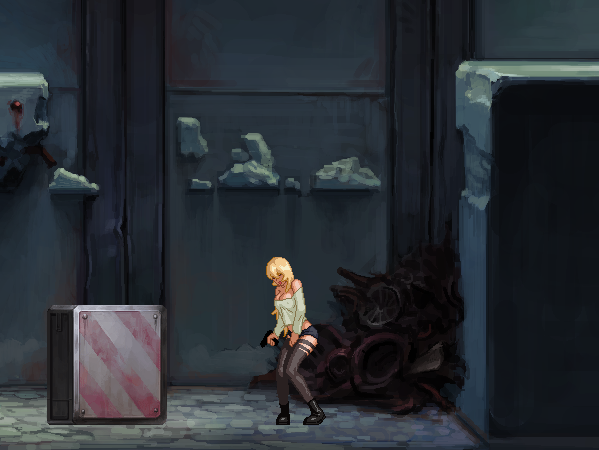 Parasite in Cite Pixel Factory Hentai Game PC Xtreme Retro 2