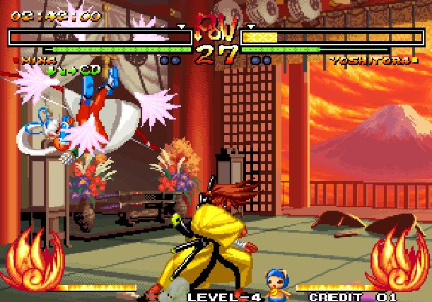 Samurai Shodown V Yuki Enterprise SNK Playmore Arcade Coin Op Neo Geo PlayStation 2 PS2 Xbox Xtreme Retro 3