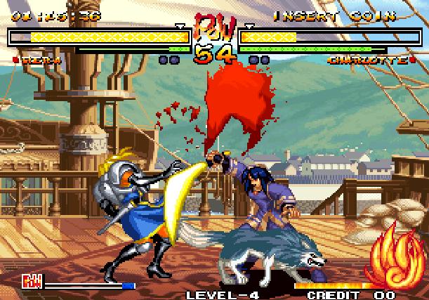 Samurai Shodown V Yuki Enterprise SNK Playmore Arcade Coin Op Neo Geo PlayStation 2 PS2 Xbox Xtreme Retro 4