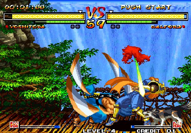 Samurai Shodown V Yuki Enterprise SNK Playmore Arcade Coin Op Neo Geo PlayStation 2 PS2 Xbox Xtreme Retro 5