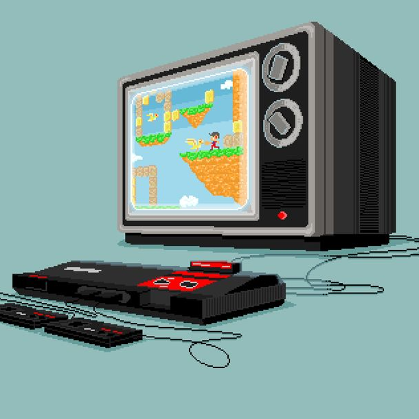 Sega Master System Mark III 8 bits Alex Kidd in Miracle World Pixel Art Xtreme Retro