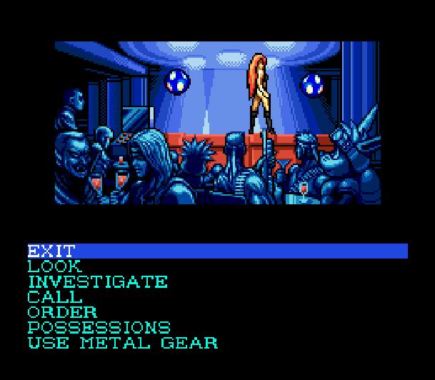 Snatcher Cyberpunk Adventure Sega Mega CD Konami Hideo Kojima Xtreme Retro 14