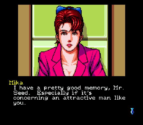 Snatcher Cyberpunk Adventure Sega Mega CD Konami Hideo Kojima Xtreme Retro 9