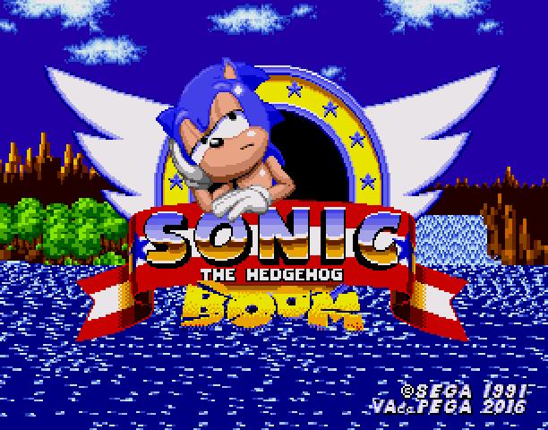 Sonic the Hedgehog Boom Sega Genesis Mega Drive MD Hack Xtreme Retro 1