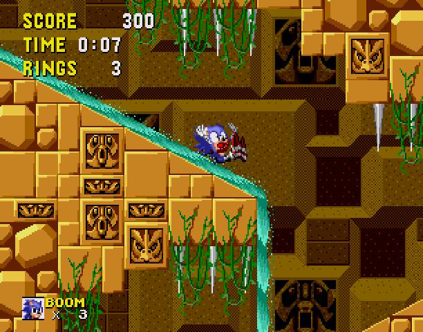 Sonic the Hedgehog Boom Sega Genesis Mega Drive MD Hack Xtreme Retro 5