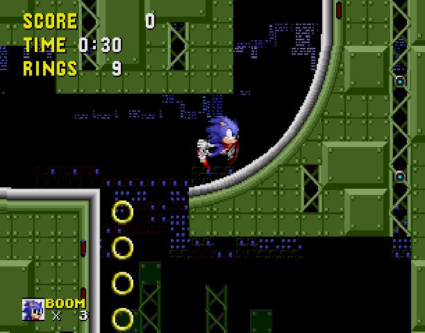 Sonic the Hedgehog Boom Sega Genesis Mega Drive MD Hack Xtreme Retro 6