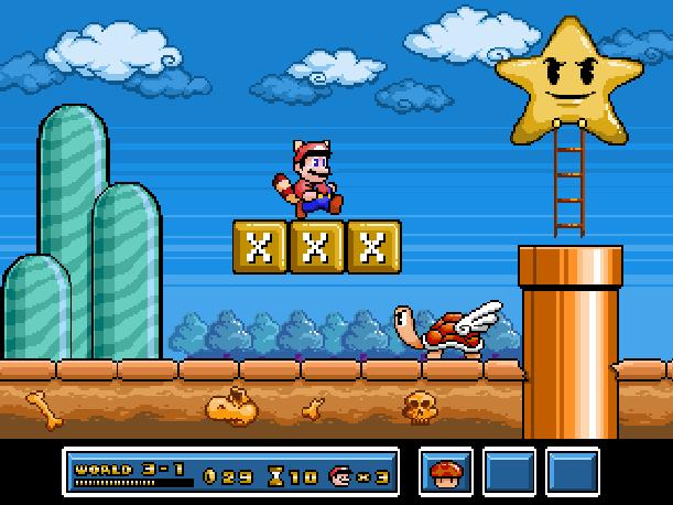 Super Mario Bros 3 SMB3 NES Famicom Nintendo Pixel Art Xtreme Retro
