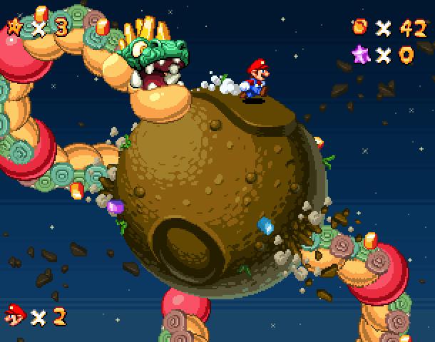 Super Mario Galaxy 2 Nintendo Wii Xtreme Retro Pixel Art