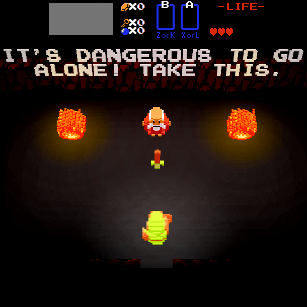 The Legend of Zelda 30 Year Tribute 3D Fangame Xtreme Retro 1