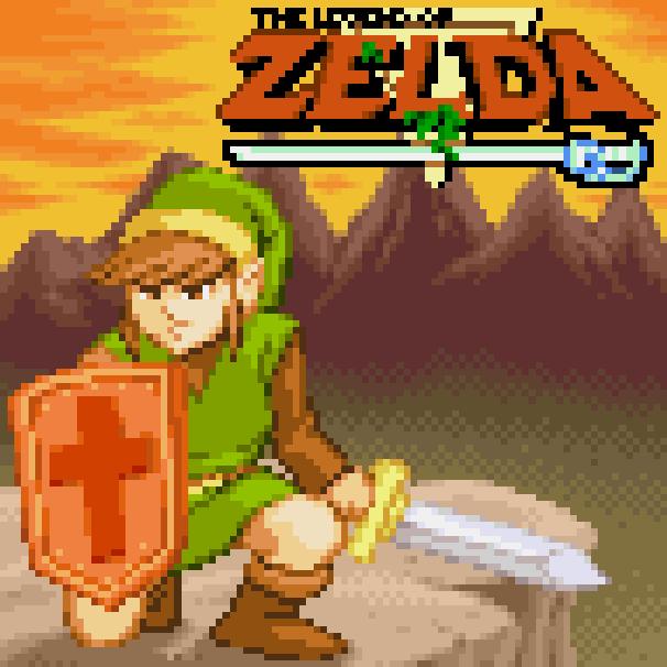The Legend of Zelda 30 Year Tribute 3D Fangame Xtreme Retro Pixel Art Nintendo NES Famicom