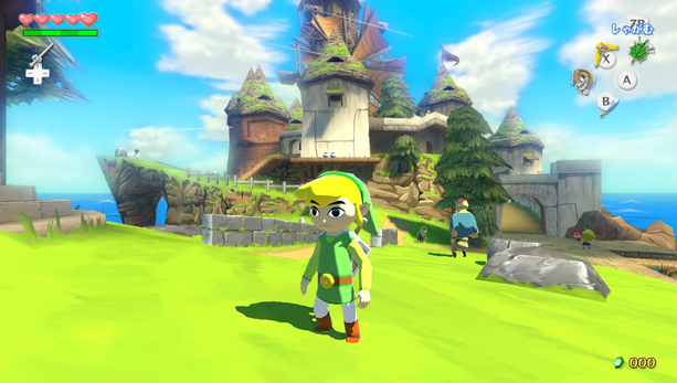 The Legend of Zelda The Wind Waker HD Nintendo Wii U Xtreme Retro 1