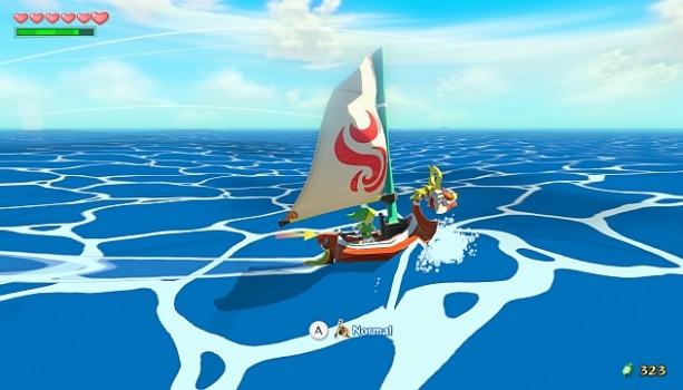 The Legend of Zelda The Wind Waker HD Nintendo Wii U Xtreme Retro 2
