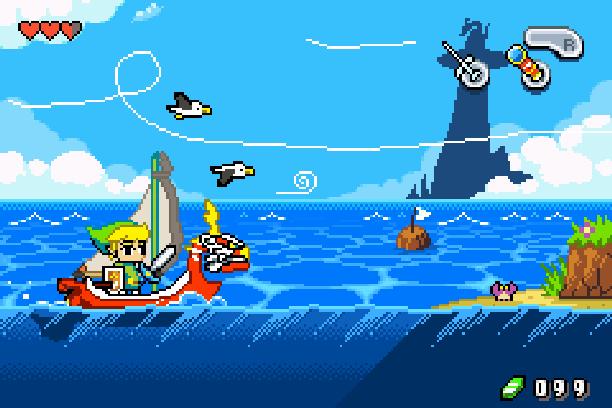 The Legend of Zelda Wind Waker Nintendo GameCube GC WiiU Xtreme Retro Pixel Art