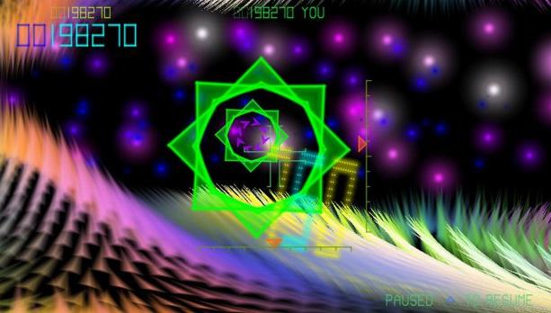 TxK PS Vita Shooter Llamasoft Xtreme Retro 1