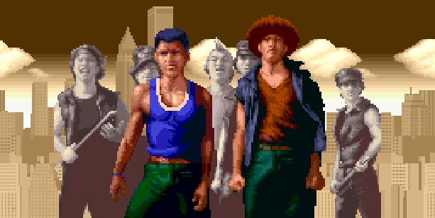Vigilante Irem Arcade Coin Op Street Brawler Beat em up Turbografx 16 PC Engine Xtreme Retro Pixel Art