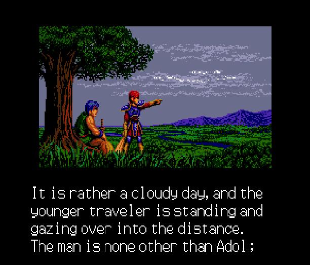 YS III Wandrers from Ys Sega Genesis Mega Drive MD Turbografx PC Engine Xtreme Retro 1