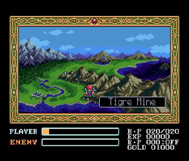 YS III Wandrers from Ys Sega Genesis Mega Drive MD Turbografx PC Engine Xtreme Retro 7
