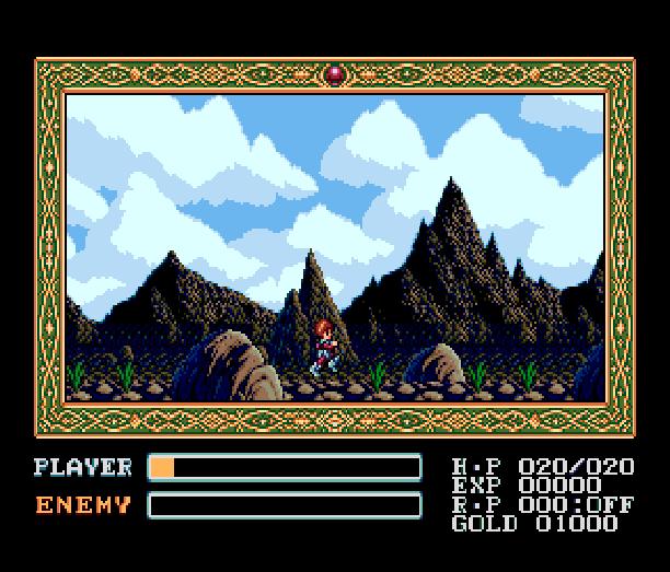 YS III Wandrers from Ys Sega Genesis Mega Drive MD Turbografx PC Engine Xtreme Retro 8