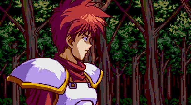 YS III Wandrers from Ys Sega Genesis Mega Drive MD Turbografx PC Engine Xtreme Retro Pixel Art Adol