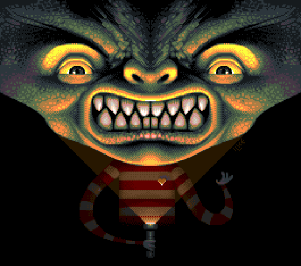 Yaku - Yuujou Dangi PS1 1996 Pixel Art Xtreme Retro