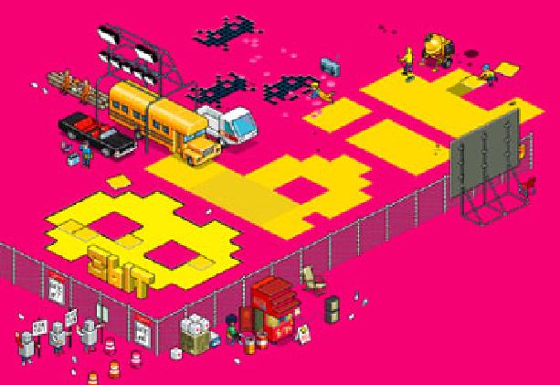 8 bit the movie pixel art Xtreme Retro