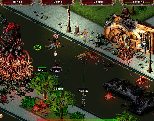 Abomination the Nemesis Project Hothouse Creations Eidos Interactive Windows Action Real Time Tactics Xtreme Retro