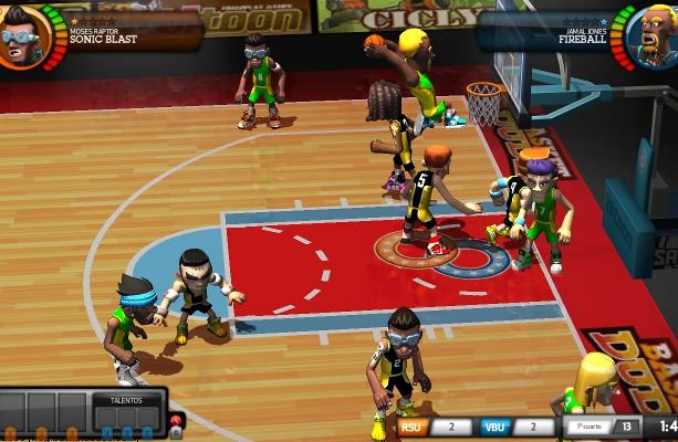 BasketDudes Bitoon Games MMO Xtreme Retro 3