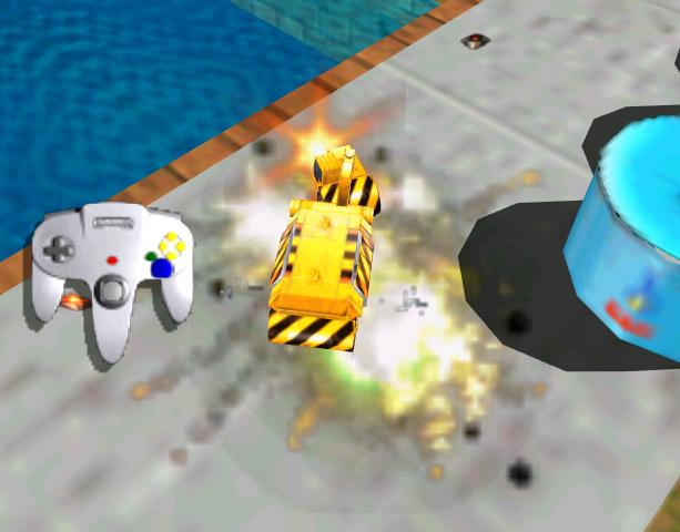 Blast Corps Rare N64 Xtreme Retro 5