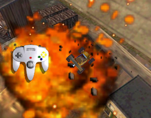 Blast Corps Rare N64 Xtreme Retro 6