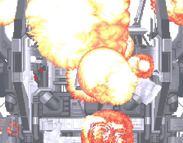 Blast Corps Rare N64 Xtreme Retro Pixel Art Explosion