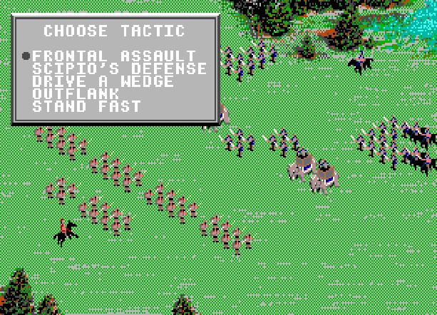 Centurion Defender of Rome Electronic Arts Bits of Magic PC Amiga Mega Drive Sega Genesis MD FM Towns PC-98 Strategy Game Xtreme Retro 2