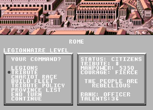 Centurion Defender of Rome Electronic Arts Bits of Magic PC Amiga Mega Drive Sega Genesis MD FM Towns PC-98 Strategy Game Xtreme Retro 3