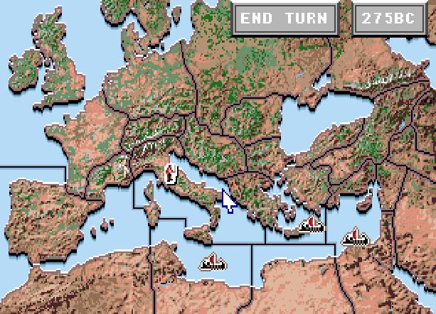 Centurion Defender of Rome Electronic Arts Bits of Magic PC Amiga Mega Drive Sega Genesis MD FM Towns PC-98 Strategy Game Xtreme Retro 4