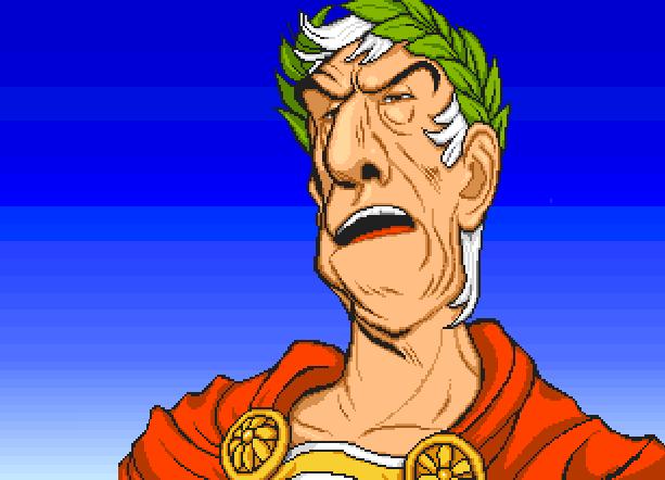Centurion Defender of Rome Electronic Arts Bits of Magic PC Amiga Mega Drive Sega Genesis MD FM Towns PC-98 Strategy Game Xtreme Retro Pixel Art Julio César Gaius Iulius Caesar
