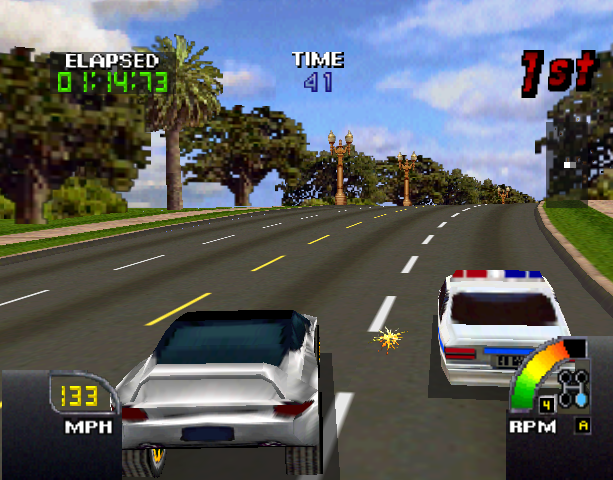 Cruis'N USA Midway Arcade Nintendo 64 N64 Racing Xtreme Retro 12