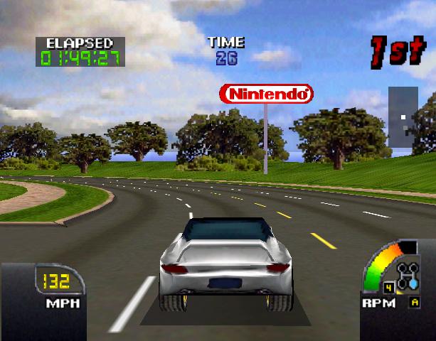 Cruis'N USA Midway Arcade Nintendo 64 N64 Racing Xtreme Retro 13