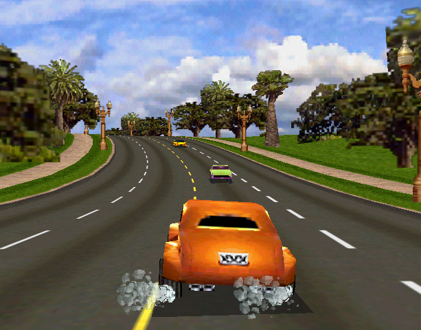 Cruis'N USA Midway Arcade Nintendo 64 N64 Racing Xtreme Retro 3