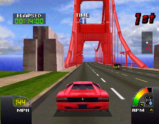 Cruis'N USA Midway Arcade Nintendo 64 N64 Racing Xtreme Retro 6