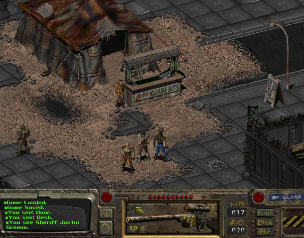Fallout 1 Black Isle Interplay Entertainment DOS Macintosh RPG Xtreme Retro
