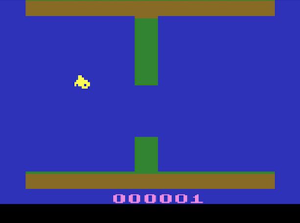 Flappo Bird TACS Games Atari 2600 Xtreme Retro