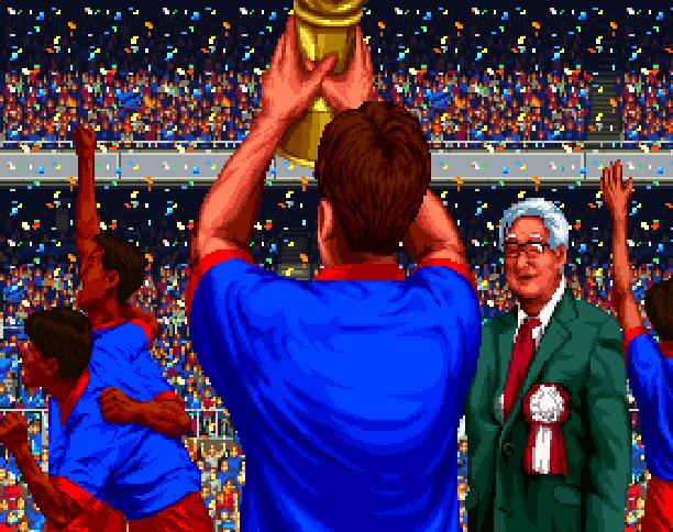 J League Go Go Goal Sega Saturn Tecmo Xtreme Retro Pixel Art